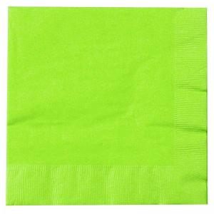 Lime Green Serviettes