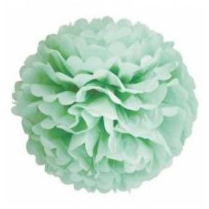 Mint Green Tissue Paper Pom Poms 30cm ( 3pp)