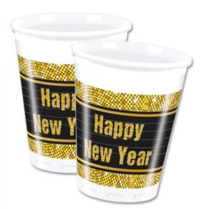 Happy New Year Plastic Cups (8)