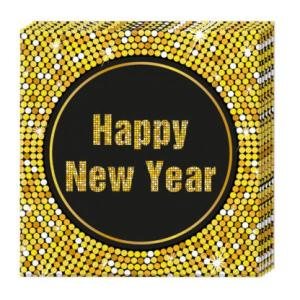 Happy New Year Napkins 2ply (20)