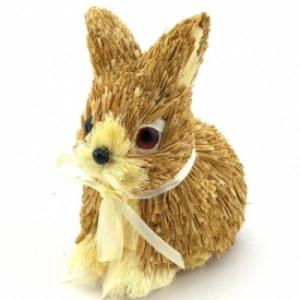 Small Natural Wooden Bunny