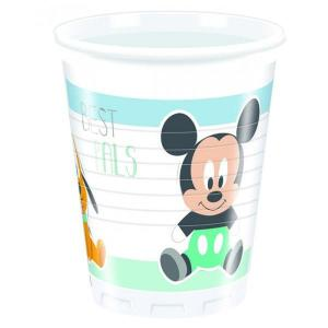 Disney Infant Mickey - Plastic Cups (8)
