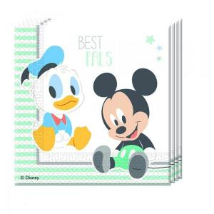 Disney Infant Mickey - Serviettes (20)