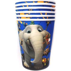 Jungle Beat Paper Cups (6)