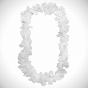 Luau Flower Garland White