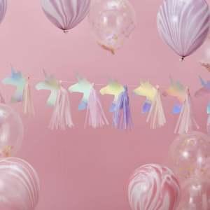 Make a Wish Tassel Garland Unicorns
