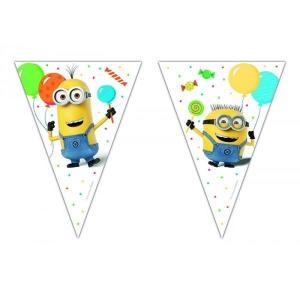 Minion Balloon Party Bunting