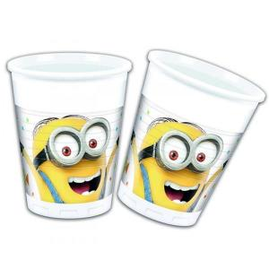 Minion Balloon Party Cups (8)