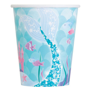 Mermaid Sparkle Party Cups (10)