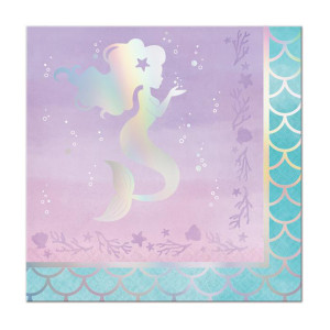 Mermaid Shine Mermaid Napkins (16)