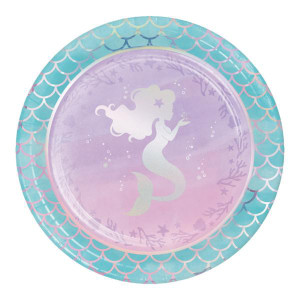 Mermaid Shine Lunch Plates (8)