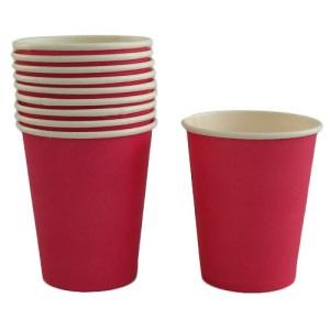 Magenta Paper Cups (10)