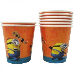 Minion Fun Paper Cups (8)