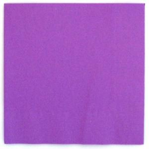 Neon Purple Beverage Napkin (20)