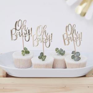 Oh Baby Cupcake Toppers (12)