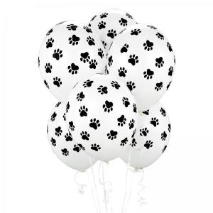 Paw Prints Latex Balloons (5)