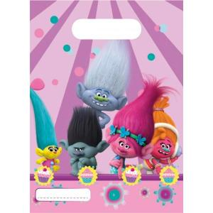 Trolls Plastic Party Bags (6)