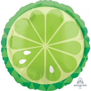 Tropical Lime Foil Balloon 18 inch