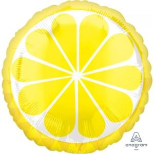 Tropical Lemon Foil Balloon 18 inch
