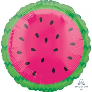 Tropical Watermelon Foil Balloon 18 inch