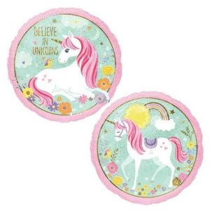Believe In Unicorns Foil Balloon 18 inch