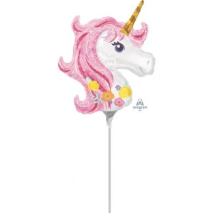 Magical Unicorn Mini Shape Balloon