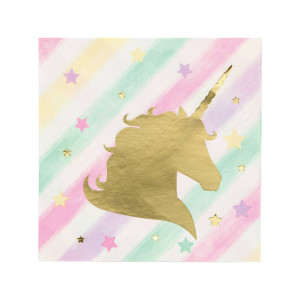 Sparkling Unicorn Beverage Napkin (16)