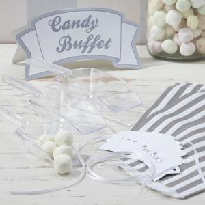 Vintage Lace Silver Candy Bar Kit