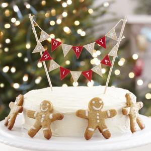 Vintage Noel - Cake Bunting