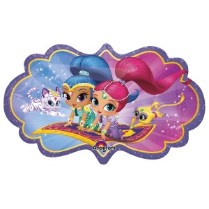 Shimmer and Shine Glitter Friends Super Shape Balloon