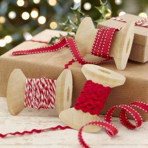 Vintage Noel - Festive Ribbons Kit (3pc)