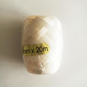White Ribbon Bobbin 5mm x 20m