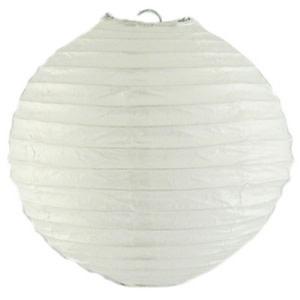 White Wired Lantern (25cm)