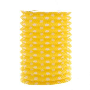 Yellow Dotted Lantern