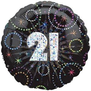 21 Time to Party Balloon
