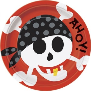 Pirate Fun Paper Plates (8)