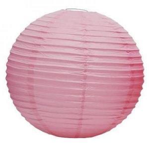 Light Pink Wired Lantern 20cm(3pp)
