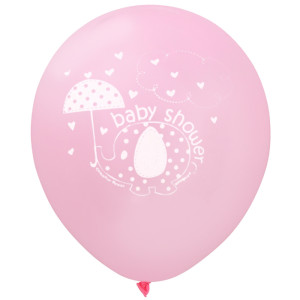 Pink Umbrellaphants Balloons (8)