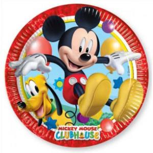 Disney Playful Mickey Paper Plates (8pc)