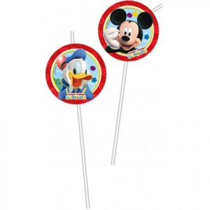 Disney Playful Mickey Party Straws (6pc)