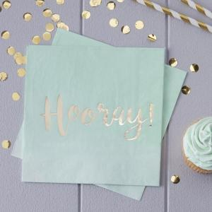 Pick & Mix Ombre Mint Green Lunch Napkins