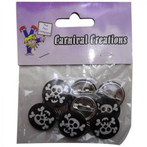 Pirate Badges (10)