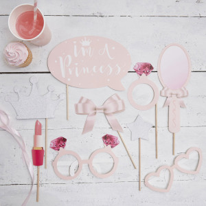 Princess Perfection Photo booth Props