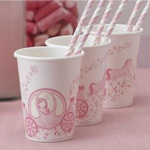 Princess Party Paper Cups (8)
