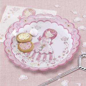 Princess Party Paper Plates (8)