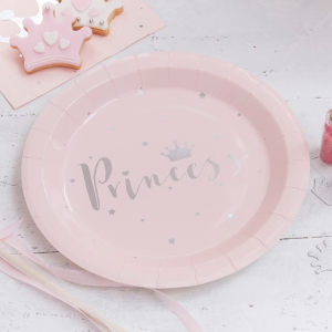 Princess Perfection Paper plates (8)