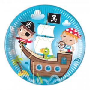 Pirate Treasure Hunt Paper Plates (8)