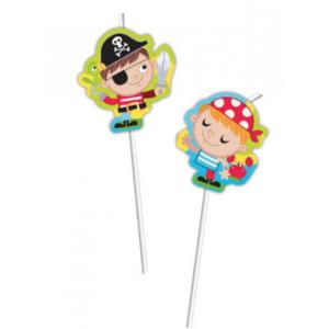 Pirate Treasure Hunt Flexi Straws (6)