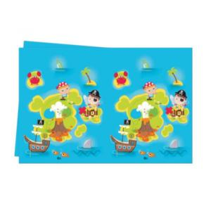 Pirate Treasure Hunt Plastic Tablecover