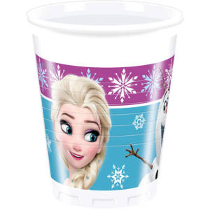 Frozen Northern Lights Plastic Cups (8)